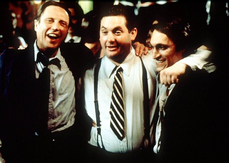 """Christopher Walken, Chris Penn, and Vincent Gallo in 1996's """"The Funeral."""""""