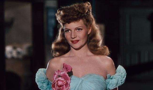 """Rita Hayworth in 1944's """"Cover Girl."""""""