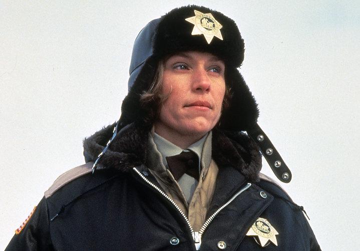 "Frances McDormand in 1996's ""Fargo."""