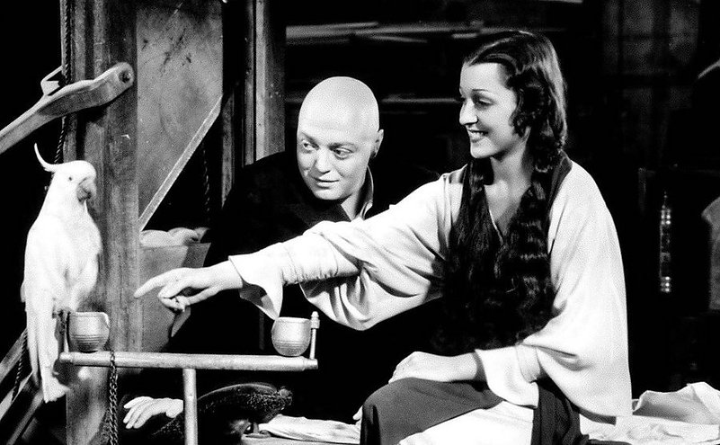 """Peter Lorre and Francis Drake in 1935's """"Mad Love."""""""
