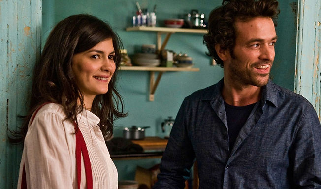 "Audrey Tautou and Romain Duris in 2013's ""Chinese Puzzle""."