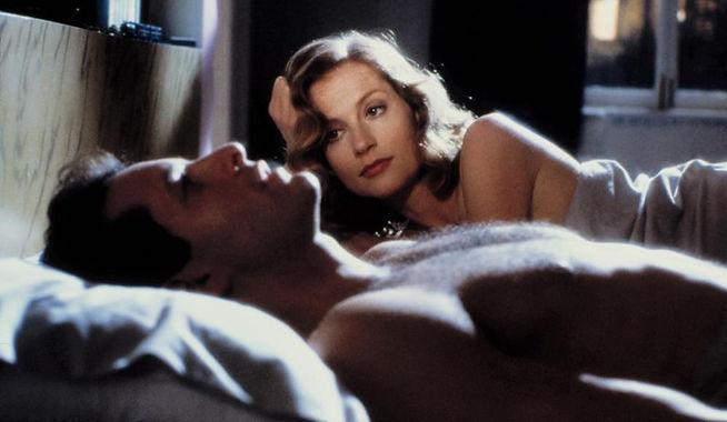 "Movie still from 1987's ""The Bedroom Window."""
