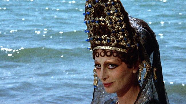 """Capucine in 1969's """"Fellini Satyricon."""""""