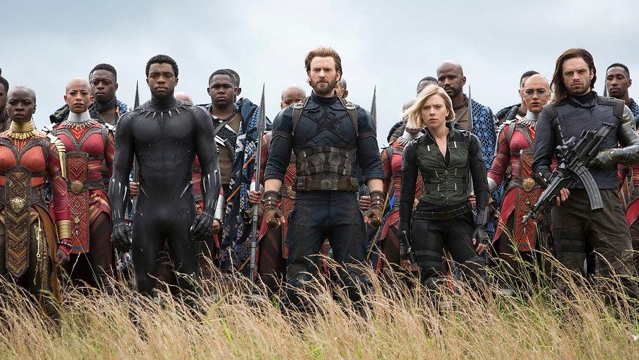 "Still from 2018's ""Avengers: Infinity War."""