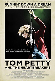 """Movie poster for 2008's """"Tom Petty and the Heartbreakers: Running Down a Dream."""""""