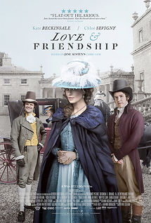 """Movie poster for 2016's """"Love & Friendship."""""""