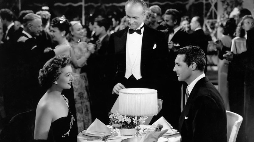"""Movie still from 1947's """"The Bachelor and the Bobby-Soxer."""""""