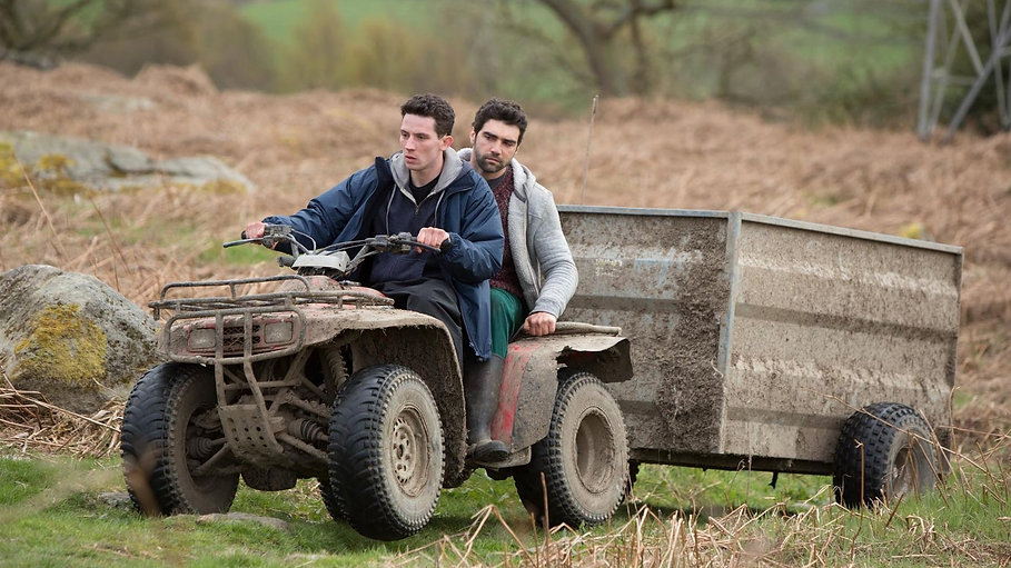 "Still from 2017's ""God's Own Country."""
