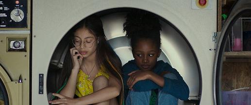 "Médina El Aidi-Azouni and Fathia Youssouf in ""Cuties."""