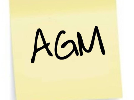 GBSC AGM - Wednesday 16th November