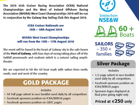 ICRA National Championships Galway - Sponsorship Opportunities