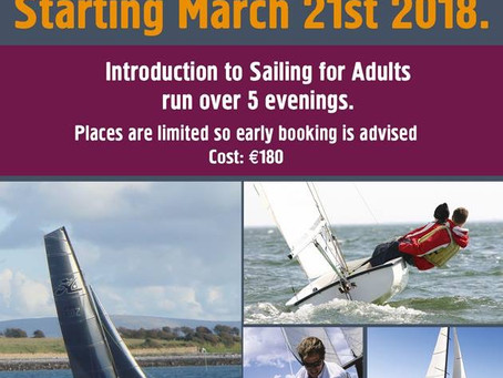 Introduction to Sailing For Adults 2018