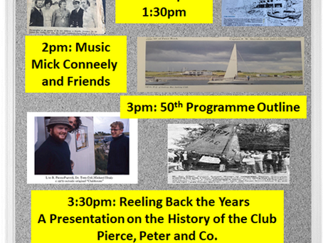 50th Anniversary Launch Sunday 9th Feb.