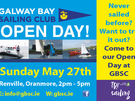 OPEN DAY EVENTS AT GBSC