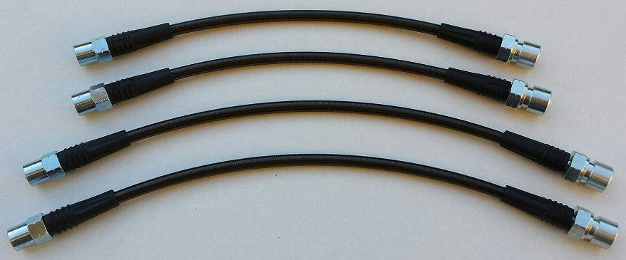 Stainless Steel Braided Brake Line Set