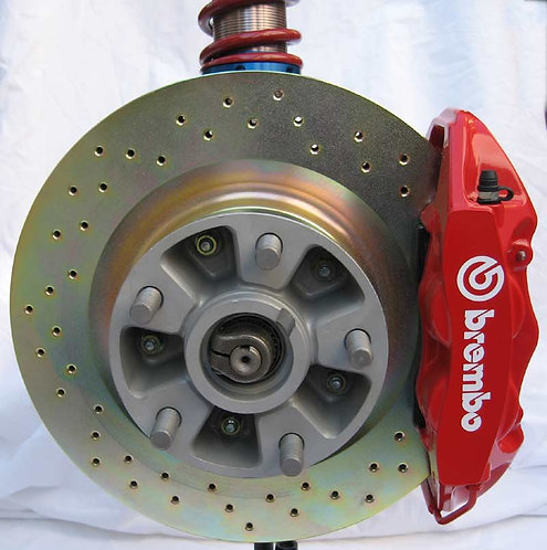 Rebel S Racing (RSR) Products Front Brembo Brake Upgrade Kit