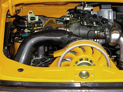 RS Carbon Fiber Heater Duct