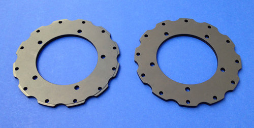Rebel (RSR) Products 930 (12-hole) Rotor Hats (pair)