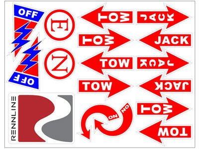 Safety Race Decal Set