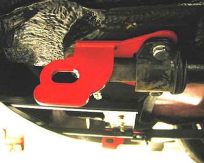 Front Tow Hooks / Tie Downs