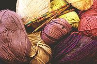 Balls of Knitting Thread