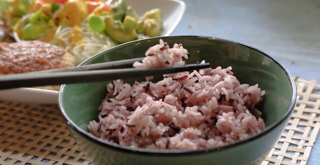 いつものお米に混ぜるだけ