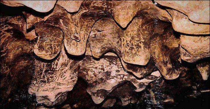 Limestone Sculptures inside cave