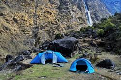 Camping at Birthi Waterfall