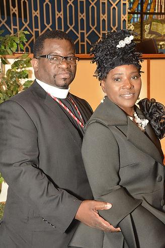 Pastor Sherman Livingston & First Lady Carolyn Livingston