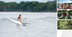 Surf life in Pacific Panama