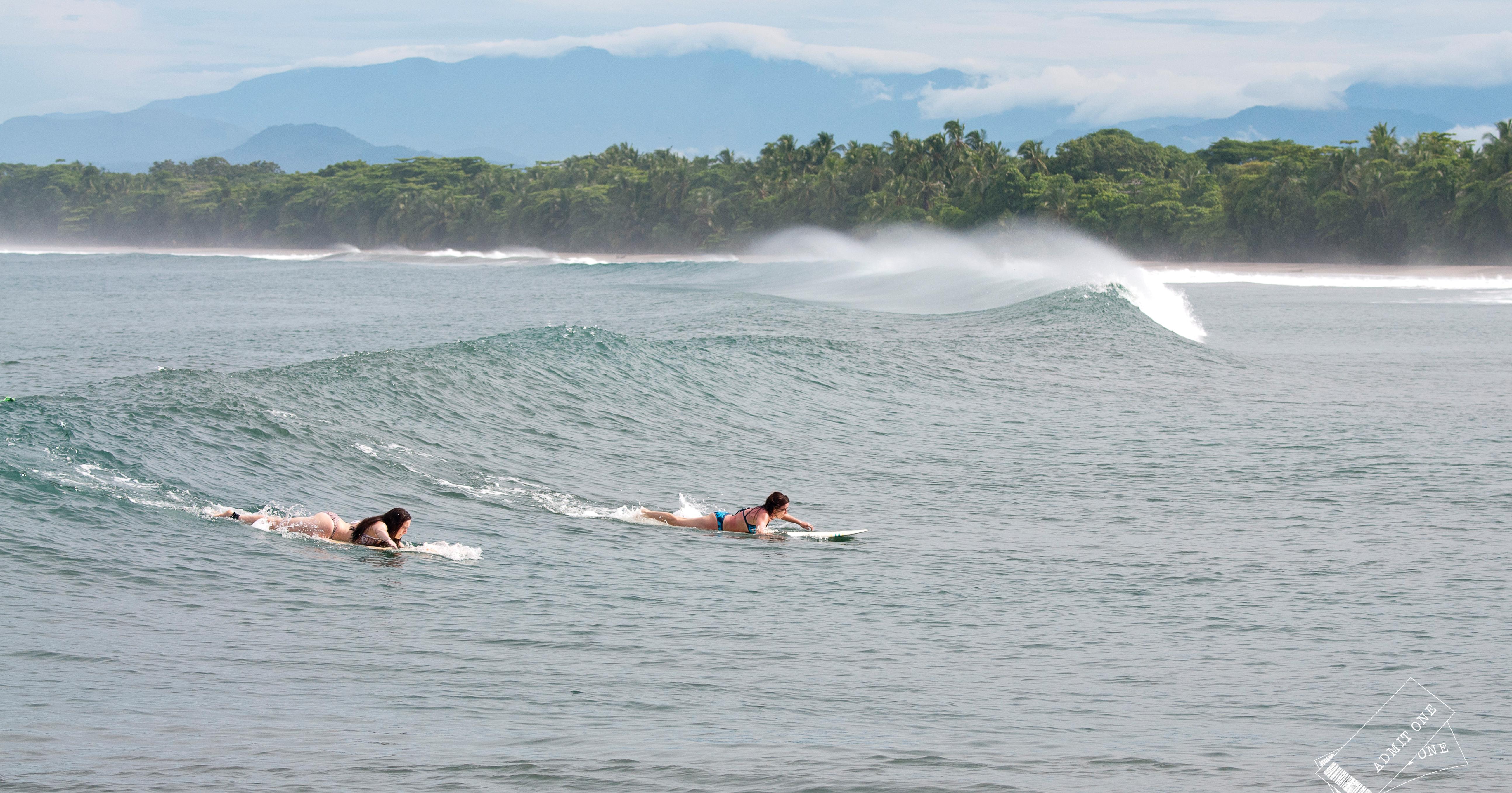 Start off with some surf at Elijah's