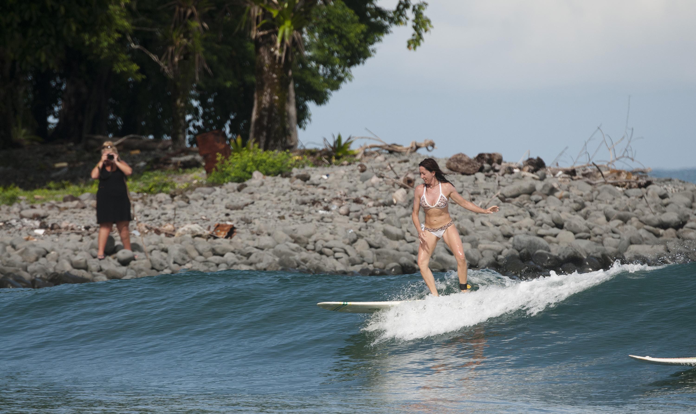 Surfing Elijah's