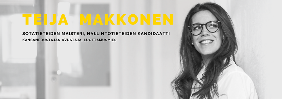 Teija Makkonen Sotatieteiden_maisteri PS