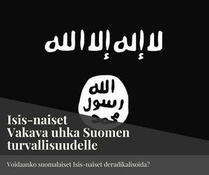 Isisin lippu. Kuva Wikimedia Commons.