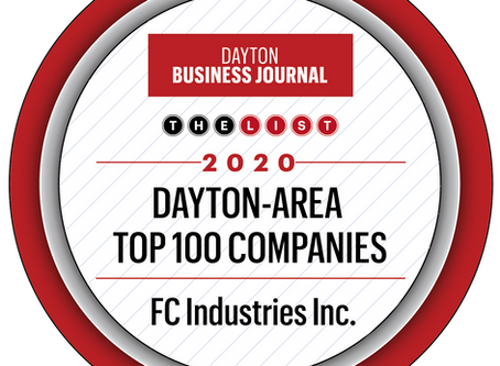 FC Industries, Inc ranks #51 in Dayton Area Top 100
