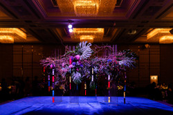 Large scale installation by Mr Ken Katayama and Mrs Pandora Ip