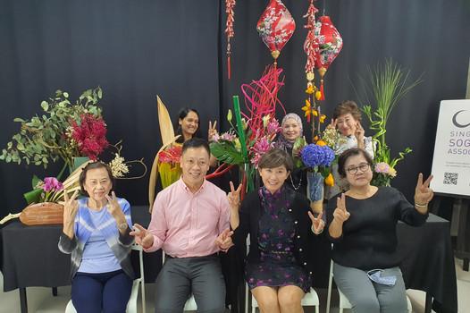 Bottom row L-R: Mrs Tsng Bee Lan, Mr Bernard Tay, Mrs Pandora Ip, Mrs Josephine Chia  Top row L-R: Mrs Sonia Cherian, Ms Farah Fazrina Rauf, Mrs Belinda Goh