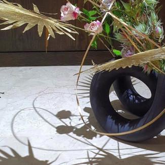 A romantic interlude, by Farah Fazrina (Singapore). Ceramic, glass, various.