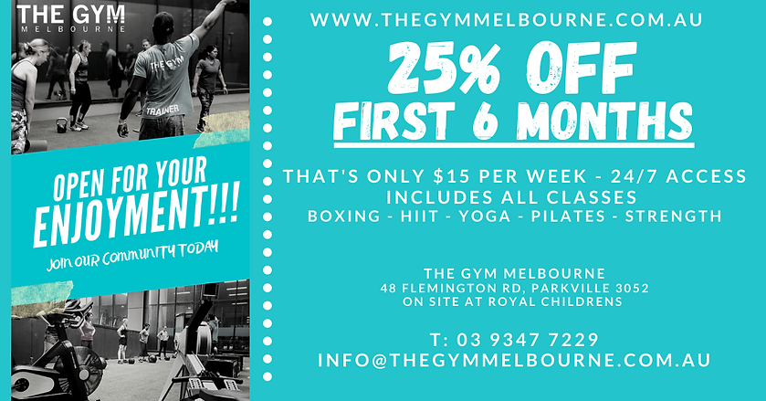GYM, MELBOURNE, NORTH MELBOURNE, NEAR ME