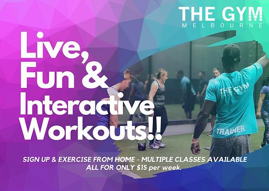 Gym, Melbourne, Gym Near Me, Online fitn
