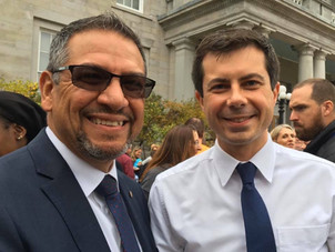Honored to introduce Presidential Candidate Pete Buttigieg, after his filing in New Hampshire
