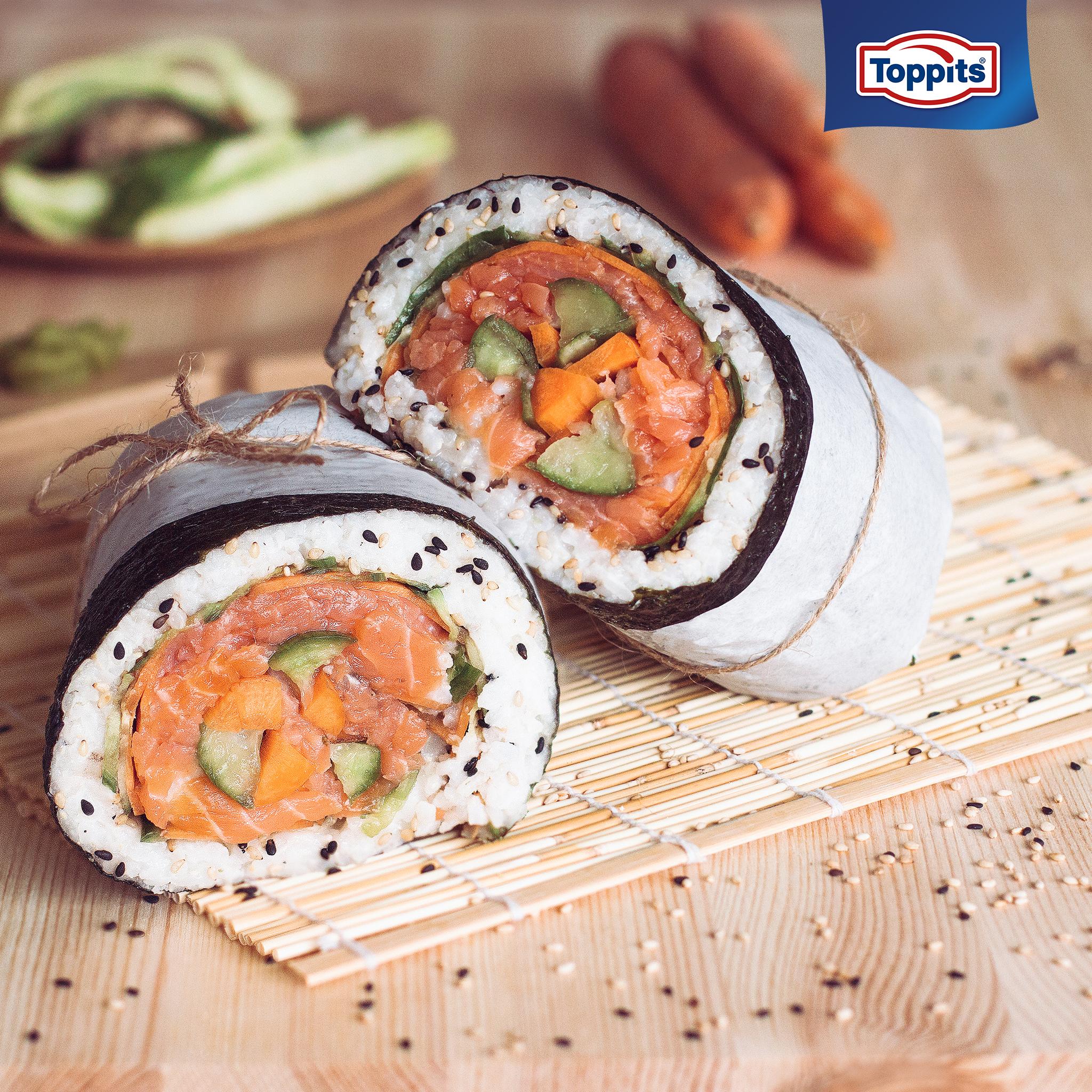 Toppits - Sushi Burrito