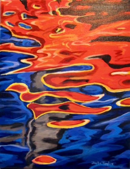 REFLECTIONS - ORANGE