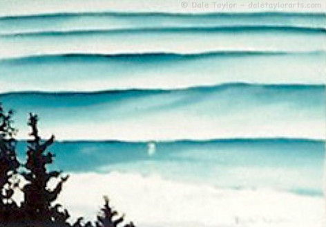 TURQUOISE WAVE TRAINS