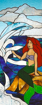 LITTLE MERMAID & DOLPHIN