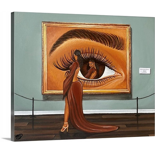 Canvas Print - Beauty is in the Eye of the Beholder