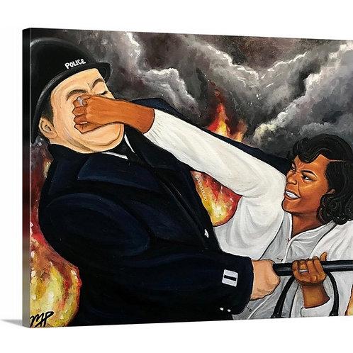 Canvas Print - No Justice, No Peace