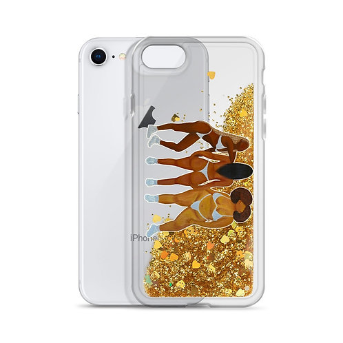 Glitter Phone Case - Curves Talk