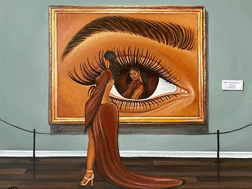 Print - Beauty is in the Eye of the Beholder