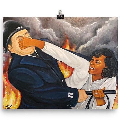 Print - No Justice, No Peace